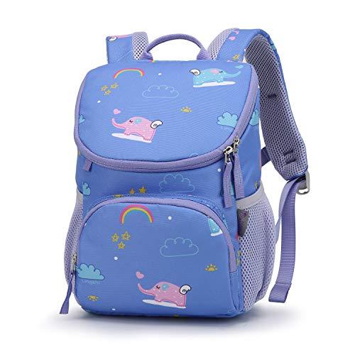 MOUNTAINTOP Kinderrucksack Kleinkinder Rucksack Kindergartenrucksack mit Brustgurt,Namensschild für Kinder Baby, 5L, 21x12x30 cm