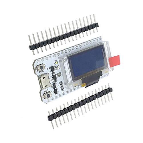 Aardich ESP32 OLED-Display WiFi Bluetooth Internet 0.96inch Development Board ESP32 Chip Module Weiß