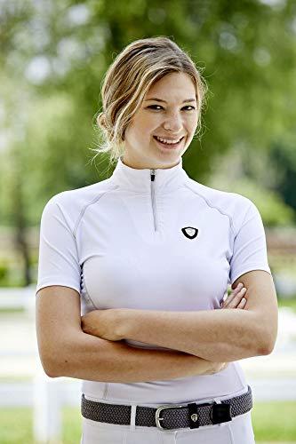 Kerbl Valentina T-shirt de compétition pour femme Blanc Taille S/36
