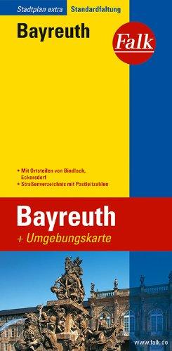 Falk Stadtplan Extra Standardfaltung Bayreuth