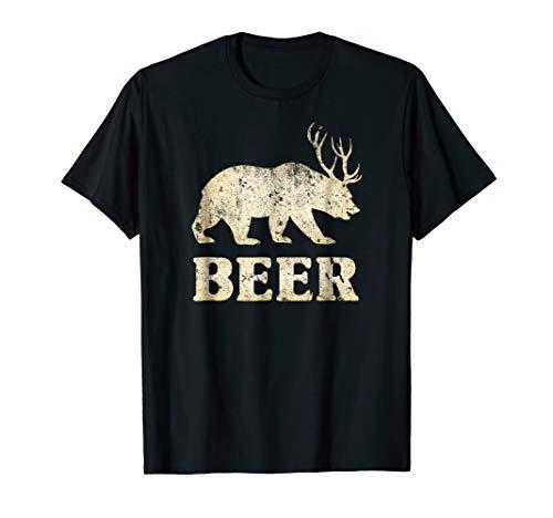 Bear Deer Beer Shirt Urban Outfitters