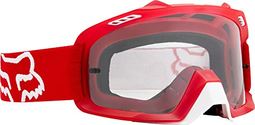Fox Air Space - Gafas protectoras para hombre, color rojo, talla única
