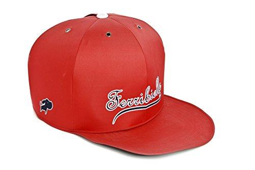 Ferribiella zonder uil-hoed F.D voor honden rood 82,5 x 57,5 x 45 cm
