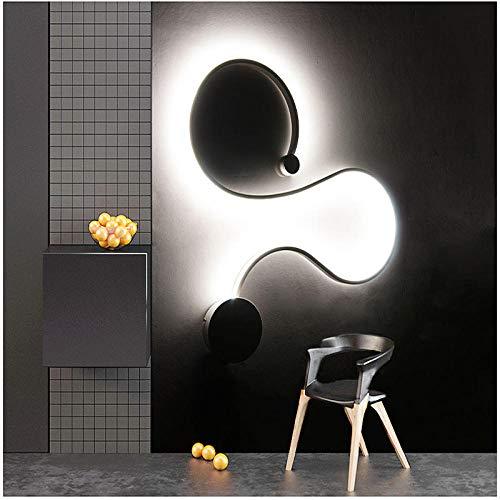 Moderne minimalistische led-lamp van aluminium bedlampje wandlamp slaapkamer badkamer spiegel lamp direct licht creatief gang