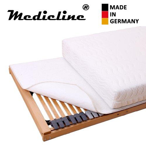 Medicline Matratzenschoner Filzschoner Wolle, Kunstfaser 140 x 200 cm