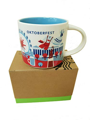 Starbucks Mug You Are Here Collection Oktoberfest Kaffeetasse Coffee Cup