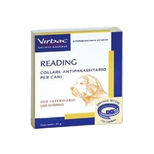 Virbac Reading - Collar antiparásitos para perros, talla grande, 41 g