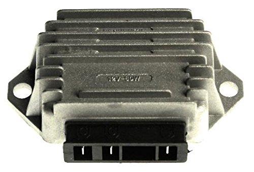 Spannungsregler, Gleichrichter, 3 Pins (G|G|Masse) Lambretta, Vespa PK Px Et2/4, Piaggio TPH Typhoon Sfera NRG, Gilera Stalker