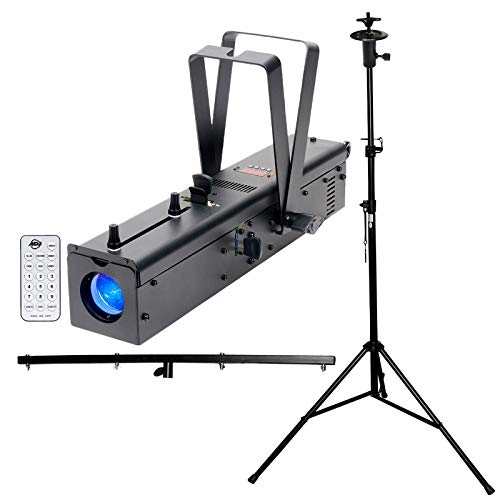 American DJ Ikon Profile High Output GOBO Projector with T-Bar Stand and Remote Control Package