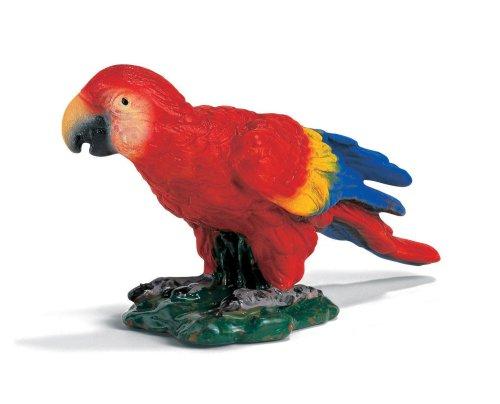 SCHLEICH 14329 - Papagei rot