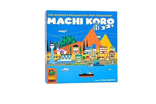 Pandasaurus Games Machi Koro 5th Harbor & Millionaires Row - English