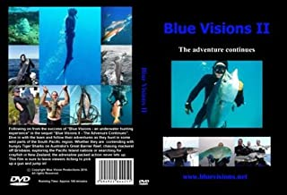 Blue Visions II - The Adventure Continues Spear Fishing DVD, Freediving DVD, Free Diving DVD, Diving DVD, Scuba DVD Freedive Freediving Freediver Free Diver Fish Scuba Dive