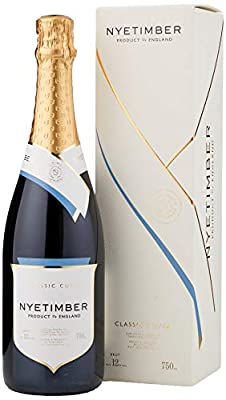 Nyetimber Classic Cuvee Gift Boxed Sparkling Wine, 75 cl