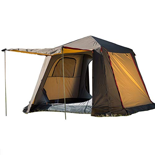 JooGoo Outdoor 4 Person Tent Ultra Light Camping Automatische Dubbele Riot Riot Verdikking Tent