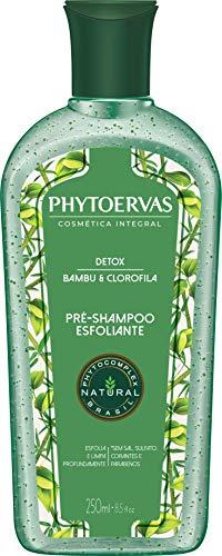 Phyto Pre Shampoo Detox 250Ml, Phytoervas, Verde