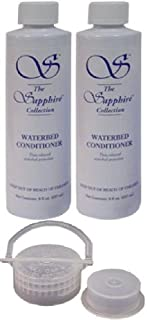 2 Bottles of 8 oz Blue Magic Sapphire Waterbed Conditioner with Cap & Plug