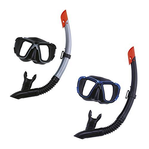 Bestway Sport Schnorchelset Tauchset Maske and Schnorchel Blacksea, 495