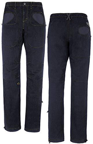 E9 Enove Rondo X - Colore Blue Jeans Pantalone Uomo da Arrampicata Sportiva (L)