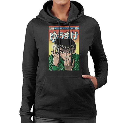Cloud City 7 Yusuke Comic YuYu Hakusho Women's Hooded Sweatshirt