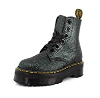 Synthetic upper with all-over glitter finish Breathable textile and synthetic lining for comfortable wear Non-removable, padded insole for cushioning and support Goodyear welt construction for durability Oil, fat, acid, petrol and alkali resistant Ai...