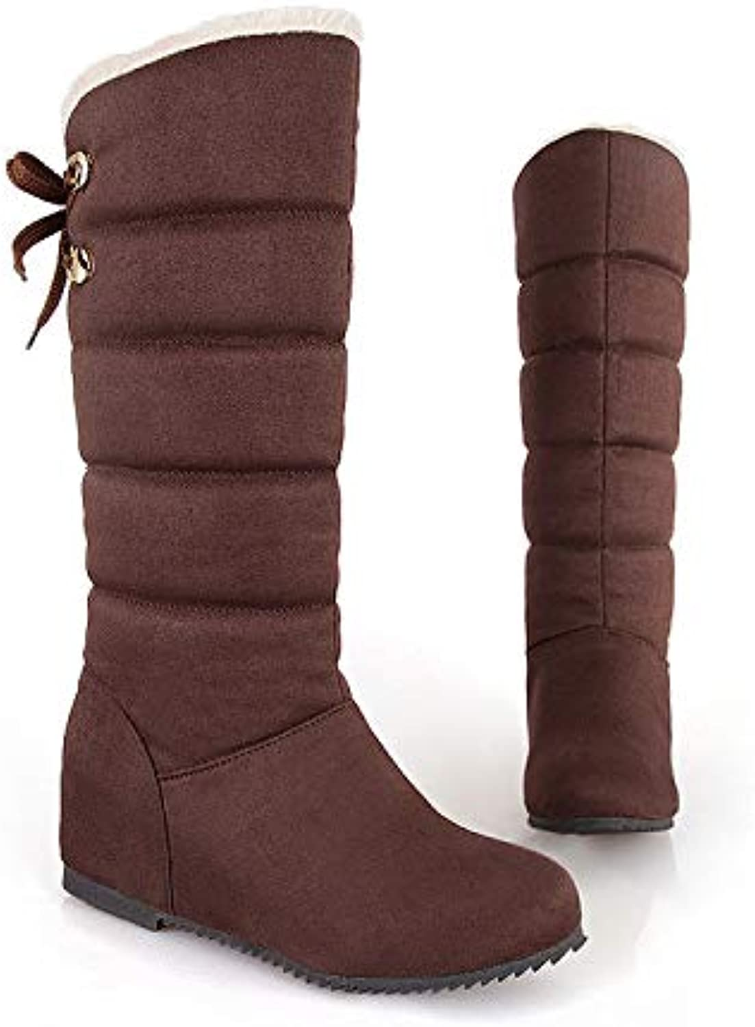 Top Shishang Increased Wedges in The Winter, Casual Thick Hair Warm Snow Boots Martin Boots Female
