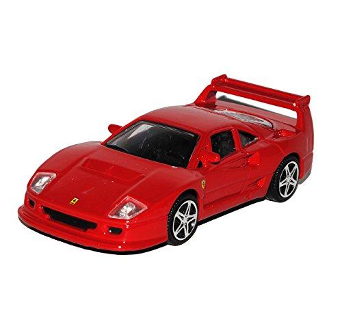 Bburago Ferrari F40 Competizione Coupe Rot 1987-1992 1/43 Modell Auto