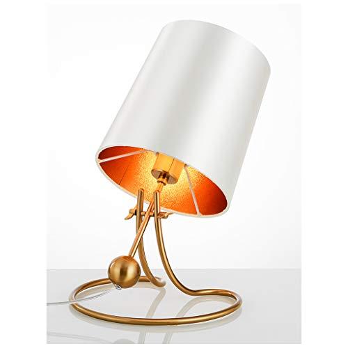 LQ Lussuoso semplice e moderno regolabile lampada da tavolo in ferro battuto lampada da comodino camera da letto personalità creativa Design caldo