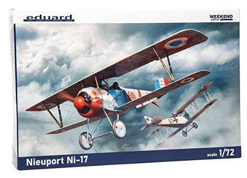 エデュアルド 1/72 ウィークエンドエディション フランス空軍 ニューポール Ni-17 プラモデル EDU7404