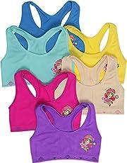ToBeInStyle Girls' Junior Teen Pack of 6 Comfortable Seamless Stretch Boyshorts Underwear