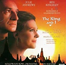 The King and I (1992 Hollywood Studio Cast) by Richard Rodgers, Julie Andrews, Lea Salonga, Peabo Bryson [1992] Audio CD