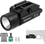 1200 Lumens Rail Mounted Compact Pistol Light LED Strobe Tactical Gun Flashlight Weaponlight for...