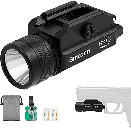 1200 Lumens Rail Mounted Compact Pistol Light LED Strobe Tactical Gun...