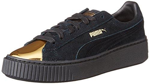 Puma - Puma Suede Platform Gold, 002 gold - black, 40,0