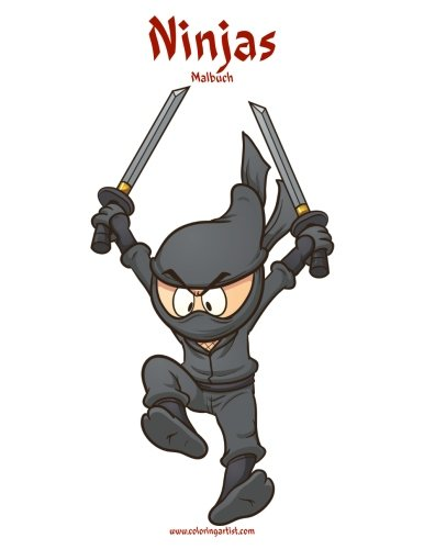 Ninjas-Malbuch 1