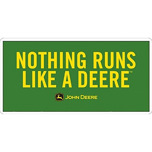 Sticker-Designs 10cm! Wetterfest Made IN Germany kompatibel für:John Deere Nothing Runs Like A Deere B34 UV&Waschanlagenfest Auto-Sticker/Decal Profi Qualität