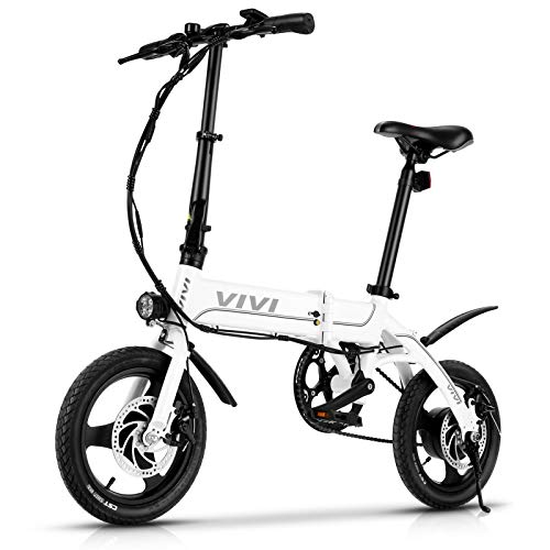 VIVI Bicicleta Eléctrica Plegable, 14