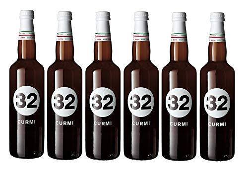 32 Via dei Birrai - CURMI- Birra Bianca Speziata 5,8% Alta Fermentazione [ 6 Bottiglie da 750 ml ]