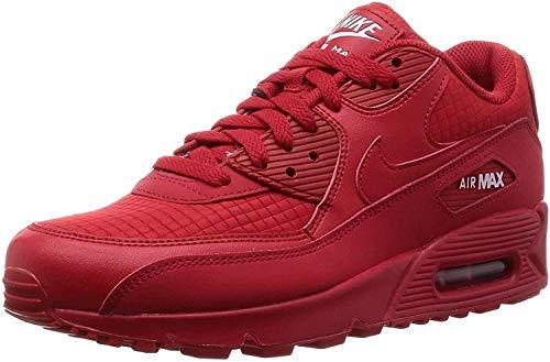 Nike Herren Air Max 90 Essential Gymnastikschuhe, Rot (Univ Red/White 602), 45 EU