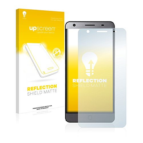 upscreen Entspiegelungs-Schutzfolie kompatibel mit Elephone P7000 – Anti-Reflex Bildschirmschutz-Folie Matt
