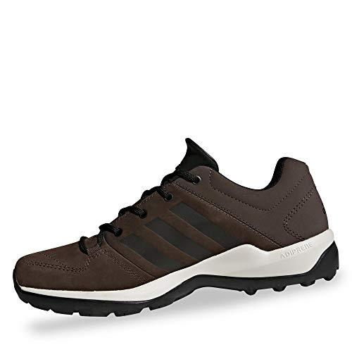 adidas Herren Daroga Plus Leather Leichtathletik-Schuh, Brown Core Black Clear Brown, 42 2/3 EU