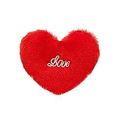 Idea Regalo - Toyvian - Cuscino Decorativo a Forma di Cuore, per San Valentino, Compleanno, Natale