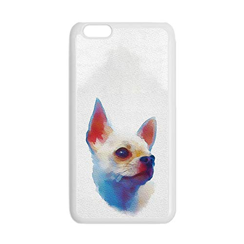para Chicos Impresión Chihuahua 6 Delgado Cajas De Teléfono De Plástico Compatible con Apple Touch 6 Choose Design 157-5