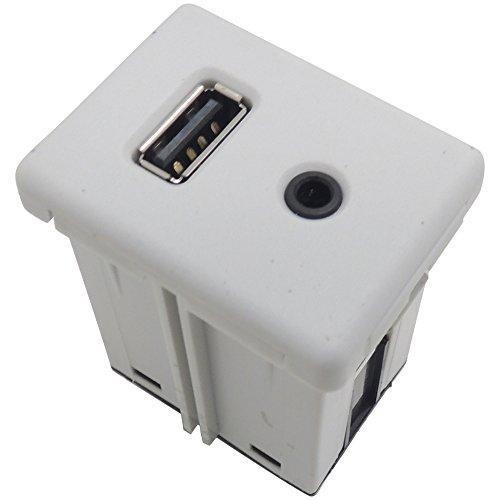 Genuine GM Equinox Terrain White USB and Aux Port 22836649