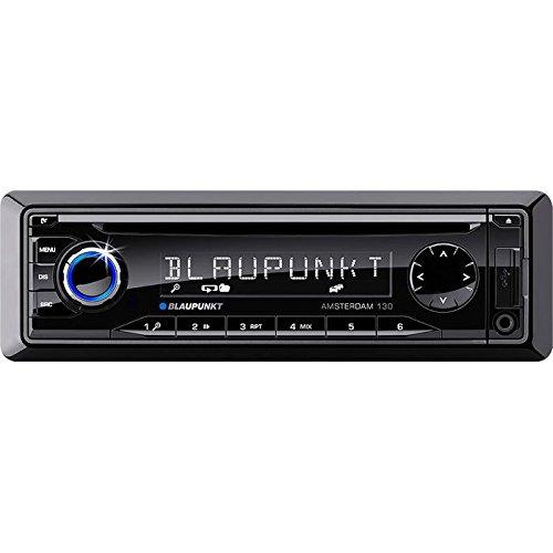 Blaupunkt Amsterdam 130 Kfz-Radio (FM/AM-Tuner, CD-RW, 4x 50 Watt, 3,5 mm Klinke, USB 2.0) schwarz