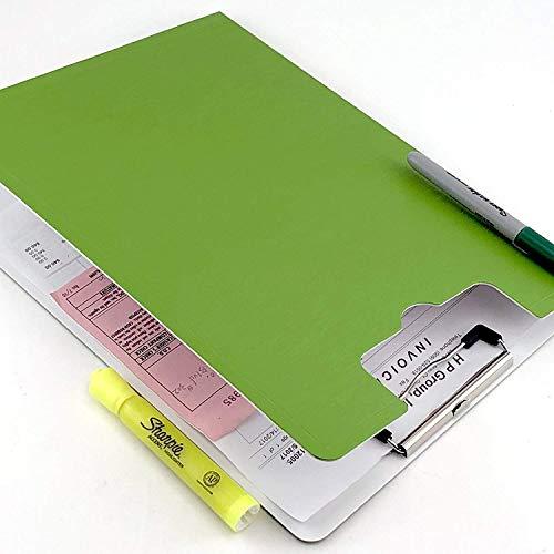 Portapapeles A4 con tapa, soporte para cartuchos, 6 colores