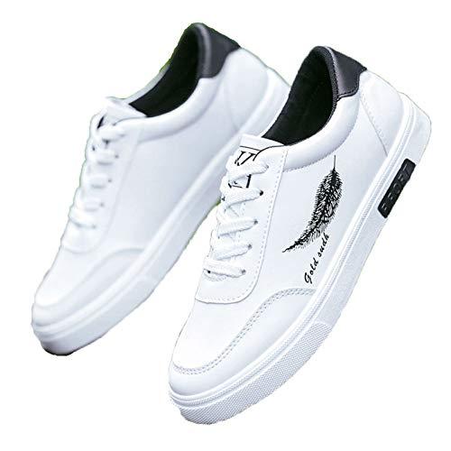 HAI Sport- & Outdoorschuhe Herrenschuhe koreanische Version Joker atmungsaktive Schuhe Freizeitschuhe Sportschuhe der Männer Gezeiten Schuhe (Color : 04, Size : EU43UK8.5CN44)