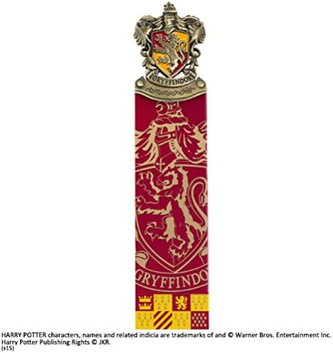The Noble Collection Harry Potter Gryffindor Crest Bookmark product image