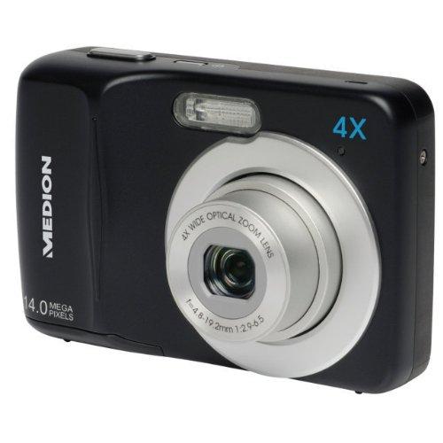 Medion LIFE MD 86590 E43020 14MP HD Digitalkamera 4-fach opt. Zoom HD Videoauflösung 720p 27 mm Weitwinkel-Objektiv