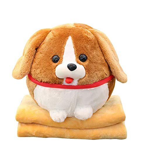 unknow Cartoon Shiba Inu Pillow Blanket Plüsch Toy Office Blanket Sofa...