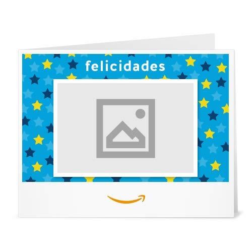 Cheques Regalo de Amazon.es - Para imprimir - Carga una foto - Estrellas